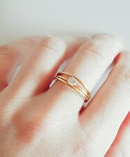 18ct Gold RAND Diamond Solitaire Ring 0.33ct RRP $4999