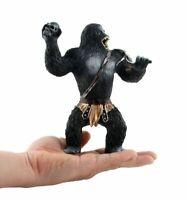 "7"" inch King Kong PVC Action Figure Toy Gift Black Gorilla in Skull Island Model"