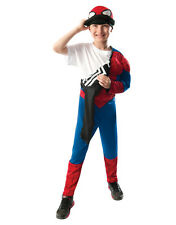 "Spider-Man Reversible Kids Muscle Chest Costume,Large,Age 8-10,HEIGHT 4' 8"" - 5'"