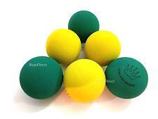 6 Balls ULTRA RACKET BALLS Racquetballs Hi Bounce Yellow and Blue Hand Ball