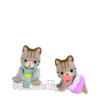 Calico Critters - Sandy Cat Twins CC1407 - New in Box
