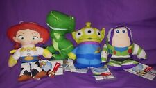 "Disney Toy Story 3 Buzz Lightyear Jessie Alien Rex 7"" Talking Plush New"