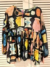"""New! Pretty GORMAN """"Urn You Keep"""" top * size 8 (also fits 10)"""