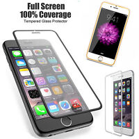For iPhone 6 6S 7 PlusFull Coverage 3D Premium Tempered Glass Screen Protector