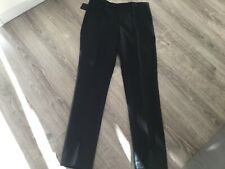 Noose & Monkey Dunster Skinny Suit Trousers In Black - Size 30R - New with Tags