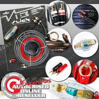Vibe Slick 8 Awg Gauge 1500w 1500 Watts System 12v Car Amp Amplifier Wiring Kit