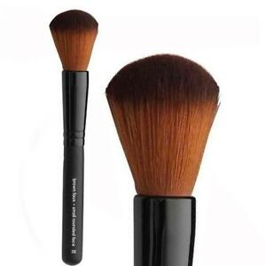 Professional Faux Small Rounded Face Powder Makeup Brushes, Vegan & Cruelty Free