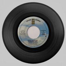 1978 Linda Ronstadt 'Tumbling Dice/I Never Will Marry' Asylum Records 45 RPM NM