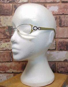 CHRISTIAN DIOR CD 3729 eyeglasses glasses frame - green and silver