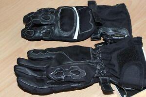 Damen Leder Motorrad Handschuhe Motorradhandschuhe Gr. M  NEU Lederhandschuhe