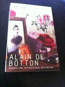 How (Marcel) Procust Can Change Your Life Alain De Botton like new book novel