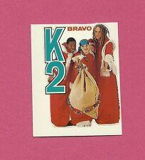 K2 1980s Movie Pop Rock Music TV Mini Sticker from Germany