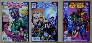 Unlimited Access(Marvel/DC-1997) #1-2,4 Spider-Man, Wonder Woman, GL, Hulk