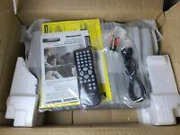 NEW Open Box Panasonic PV-V4521 VHS Player 4 Head Video Cassette Recorder VCR