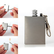 Stainless Steel Waterproof Match, camping lighter anywhere survival matches