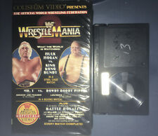 WWF WRESTLEMANIA 2 - (Beta, 1986) WWE WCW NWO COLISEUM VIDEO - Hulk Hogan II