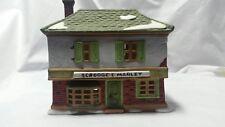 Vintage Dept 56 Dickens Village A Christmas Carol Series Scrooge & Marley House