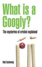 What Is A Googly?: The Mysteries Of Cricket Explained,GOOD Book