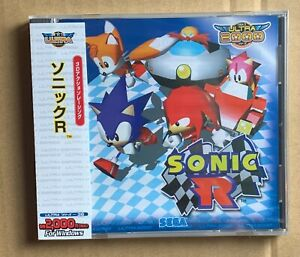Sonic R Ultra 2000 Windows PC Japan SEGA New! Sealed