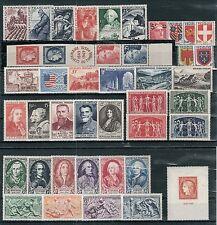 Timbres France Neufs ** - Année 1949 complète