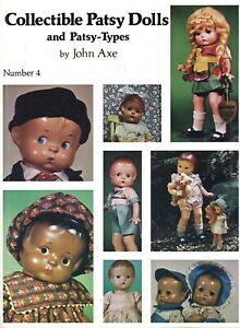 Collector's Guide Effanbee Patsy Dolls - Look-a-Likes / Scarce Illustrated Book