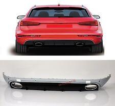 Für Audi Q3 8U RSQ3 Diffuser Stoßstange Wabengrill Kühlergrill Gitter #16