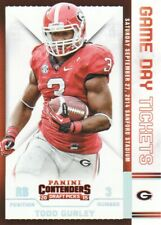 2015 Contenders Draft Picks Game Day Tickets #46 Todd Gurley Georgia Bulldogs