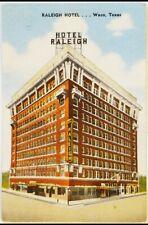 Raleigh Hotel Waco Texas Postcard