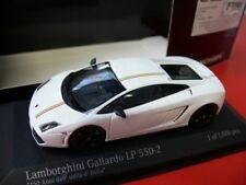 LAMBORGHINI Gallardo lp550-2 TRICOLORE 2011 BIANCO MODELLO DI AUTO 1:43 Minichamps