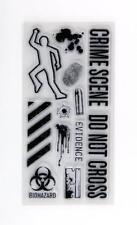 Inkadinkado Clear Stamps, Crime Scene