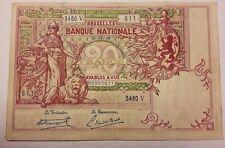 20 Francs 1919 20 Frank 1919 Billet Belgique Belgïe Belgium Banknote 30-12-19