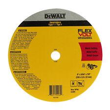 DEWALT Flexvolt Ceramic Metal Cutoff Wheel 230x2x22.23mm Thin Kerf *usa BRAND