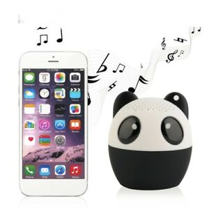 Mini Panda Speaker.Bluetooth  , Beautiful Gift For Everyone, Perfect For Office