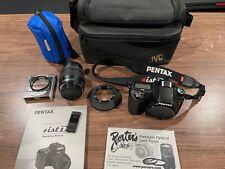 Pentax ist DL Digital SLR Camera with Pentax 18-55mm AF Lens and accessories