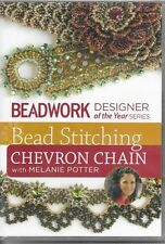 NEW! Bead Stitching Chevron Chain by Melaine Potter [DVD] FREE SHIPPING