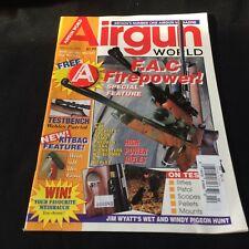 AIRGUN WORLD Magazine February 1995~Hunting, Rifle, Pistol, Scopes BRITAIN