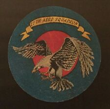 27TH AERO SQUADRON SCREEN PRINTED LEATHER PATCH Finest Quality