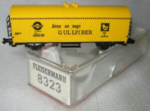 FLEISCHMANN 8323 N PICCOLO GULLFIBER REFRIGERATOR WAGON KUHLWAGEN NEW Ep III