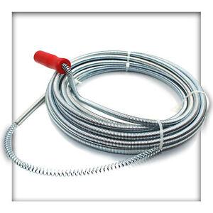 Rohrspirale Rohrreinigungswelle Rohrreinigungsspirale Abflussreiniger 3 – 10 M