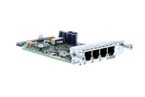 USED Cisco VIC-4FXS/DID 4-Port High-Density FXS/did Analog Voice Interface Card
