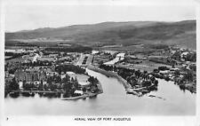 More details for br108086 aerial view of fort augustus scotland uk real photo