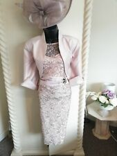 STUNNING MOTHER OF THE BRIDE OUTFIT SIZE 14 NIGHTINGALES