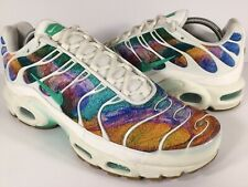 low priced c325f 2cc96 Nike Air Max Plus Tn Galaxy Print Rainbow Multicolor White Mens Size 10 Rare
