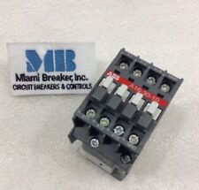 Abb A16 30 10 Contactor 30a 3p 220v Tested 1 Year Warranty
