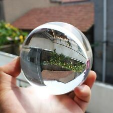 HUGE 80mm Asian Rare Quartz Clear Magic Crystal Healing Ball Sphere + Stand+++