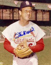 Stan Musial St. Louis Cardinals Autographed Signed 8x10 HOF COA #2 DECEASED