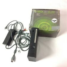 Microsoft Xbox 360 Elite  120GB Matte Black Console With Charger No Controller