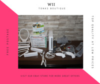 HUGE! Wii Console Bundle 2 Controllers, Wii Board, Lots of Games + Sports Pack