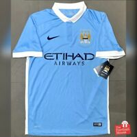 Authentic Nike Manchester City 2015/16 Home Jersey. BNWT, Size S.