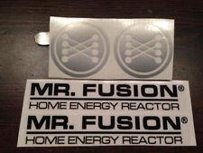 Mr Fusion Back to the Future sticker BTTF Zurück in die Zukunft Aufkleber